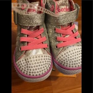 Skechers Twinkle Toes Shuffles Chitter Chatter